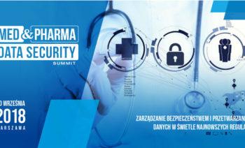 Patronat Omni Modo nad Konferencją Med&Pharma Data Security Summit w Warszawie już 20 września