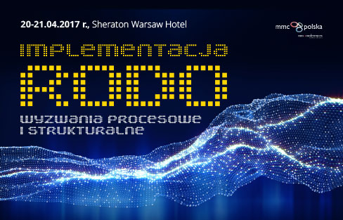 """Portal GDPR patronem warsztatów """"Implementacja RODO – wyzwania procesowe i strukturalne"""""""