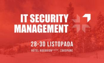 Portal GDPR .pl objął patronatem Konferencję IT Security Management w Zakopanem!