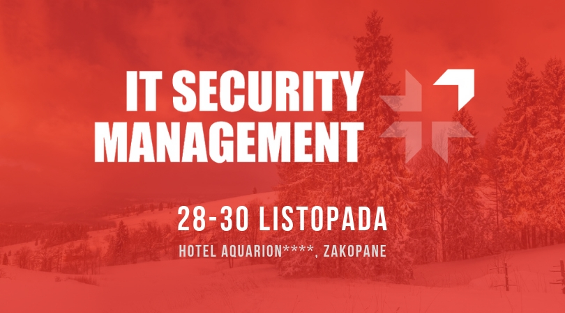 Portal GDPR .pl objął patronatem Konferencję IT Security Management w Zakopanem!