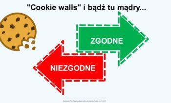 """""""Cookie walls"""" i bądź tu mądry."""