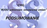 RODO – podsumowanie nowelizacji sektorowej.