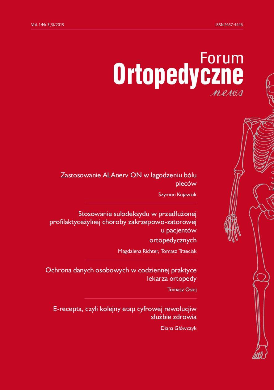 Ochrona danych osobowych w codziennej pracy lekarza ortopedy