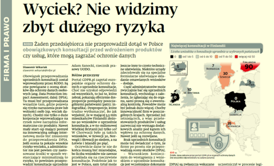 GDPR.pl w Gazecie Prawnej