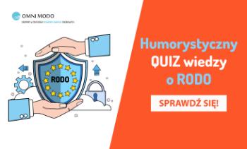 Humorystyczny quiz wiedzy o RODO
