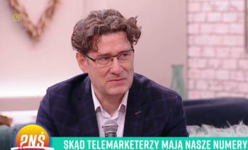 """Jak pozbyć się natrętnych telefonów od telemarketerów? – Mec. Tomasz Osiej w programie """"Pytanie na śniadanie"""""""
